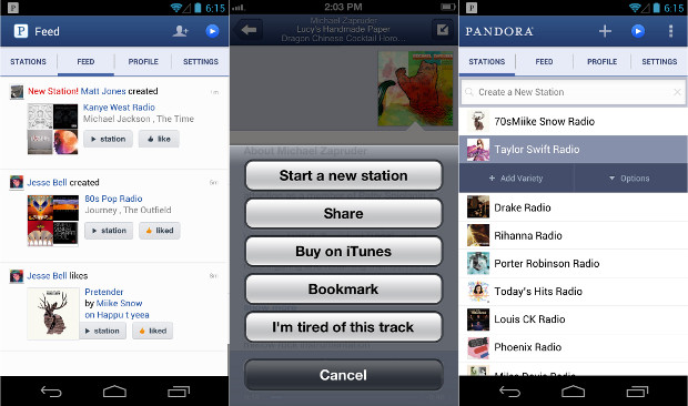 DNP Pandora cranked out over 13 billion hours of music in 2012