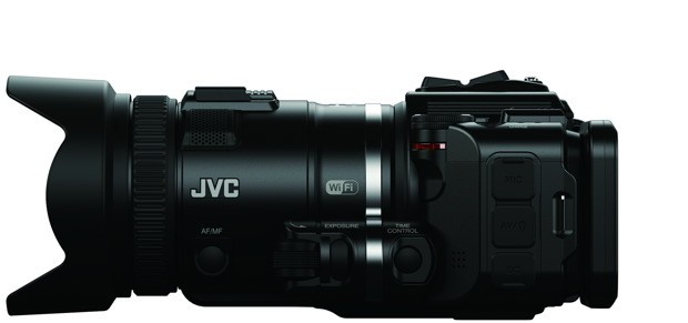 JVC launches Procision slowmo HD camcorder, refreshed Everio line at CES