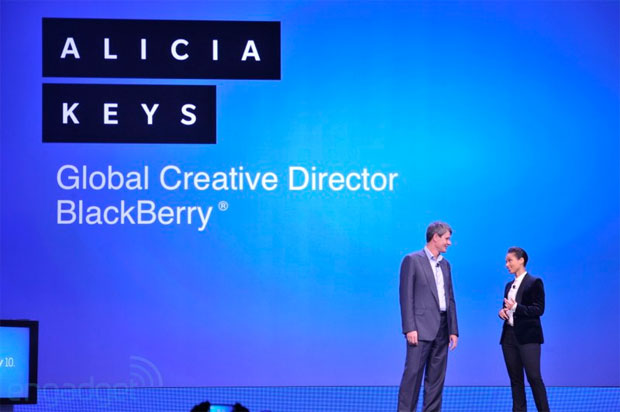 Alicia Keys is Blackberry's new Global Creative Director, yep