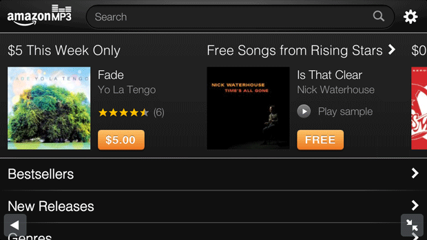 Amazon's MP3 store 'optimized' for iOS devices via Safari, allows for easier track purchases