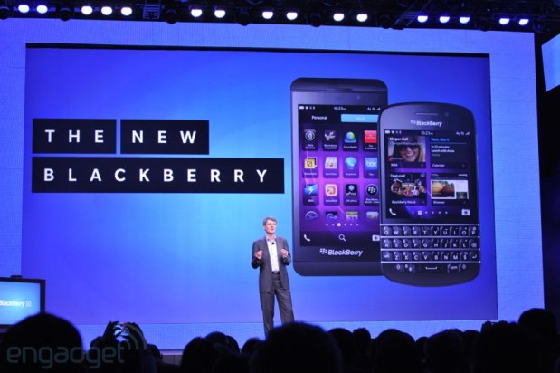 BlackBerry 10 event roundup