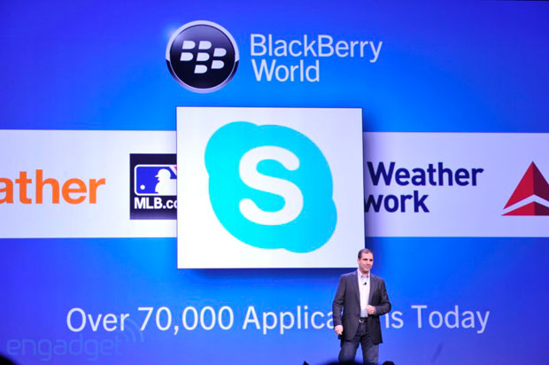 Skype coming to BlackBerry 10 devices