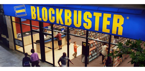 Blockbuster UK retail