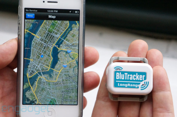 BluTracker lets you track down your stuff within 2,500 feet, we go handson video