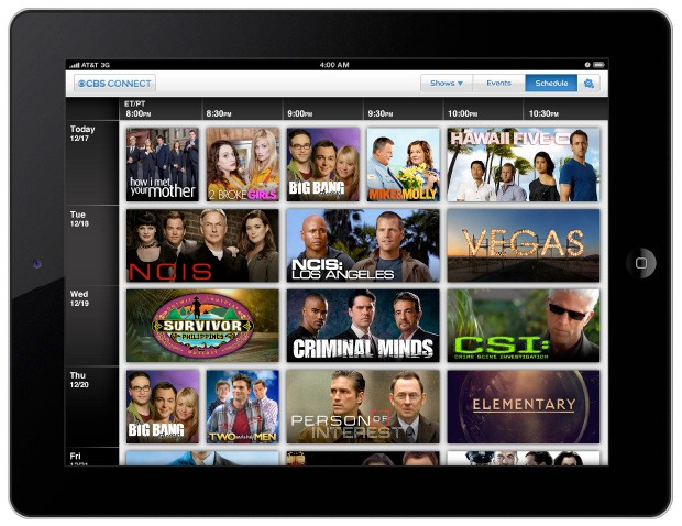 CBS Connect endows NCIS, CSI and Hawaii FiveO with second screen interactivity for iPad