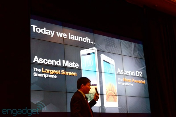 Huawei launches 61inch Ascend Mate