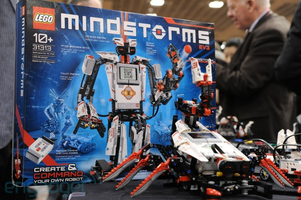Handson with Legos Mindstorms EV3 kit video