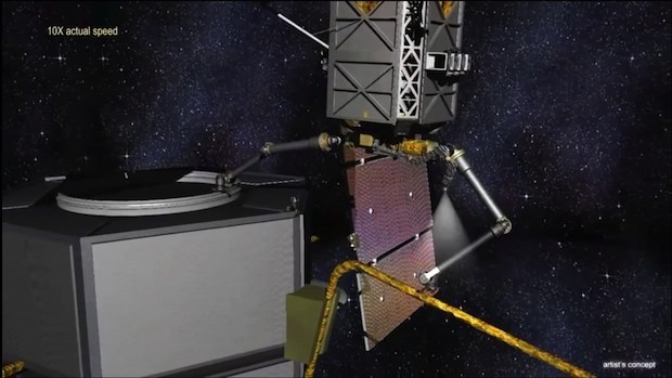 DARPA touts progress on Phoenix program to salvage dead satellites