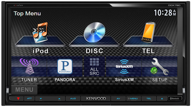 Kenwood announces four new incar multimedia receivers connects through Bluetooth with most smartphones