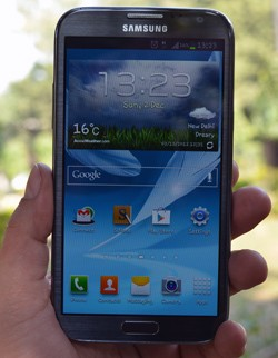 IRL: Securifi Almond, Samsung Galaxy Note II and the LG Optimus G