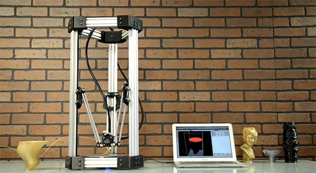 Insert Coin DeltaMaker 3D printer