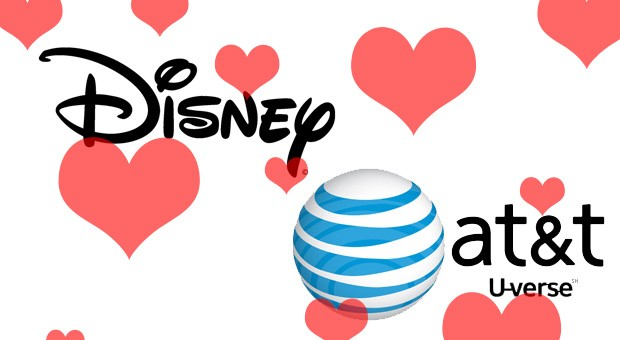 Disney and AT&T's UVerse renew vows, expand the relationship