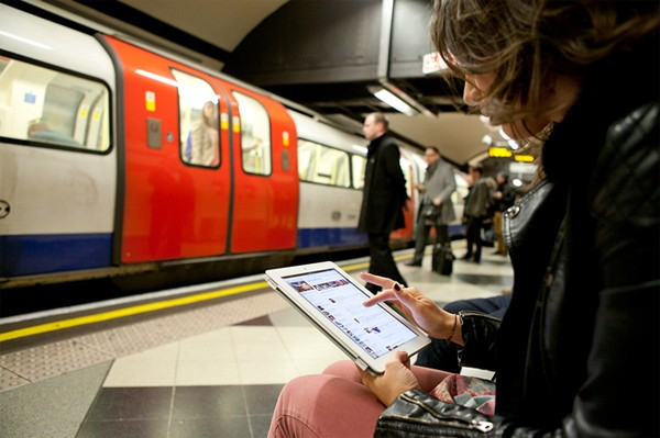 O2 customers get free pass on Virgin Media's tube WiFi, 12 more stations go online this week