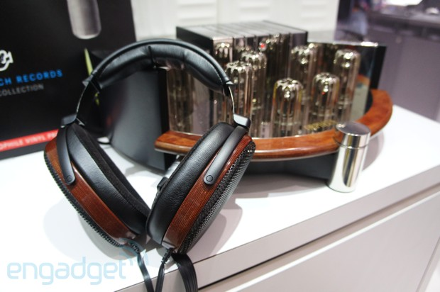Sennheiser Orpheus HE90 headphones ears-on
