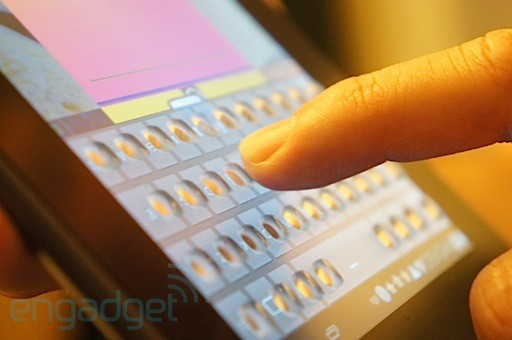 Tactus morphing touchscreen keyboard hands-on (with video)