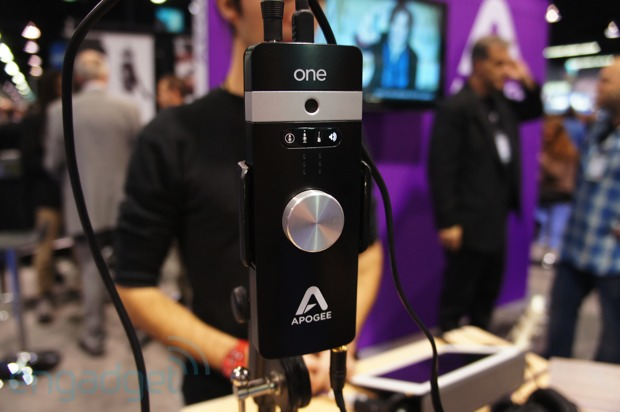 Apogee One for iOS and Mac handson