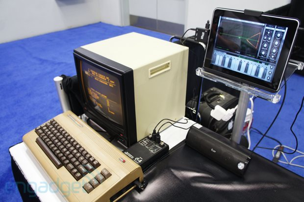 MIDI spans 30 years at NAMM with Commodore 64 and Animoog (video)