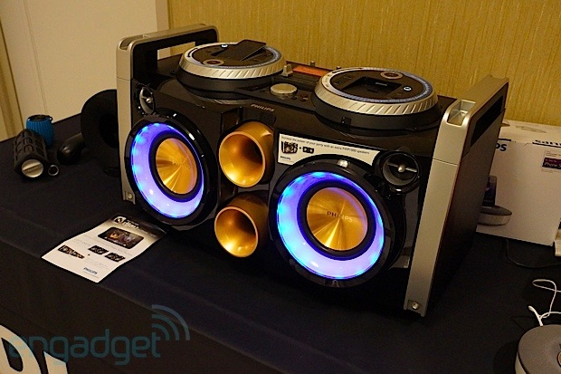 Philips showcases its 2013 Fiedelio audio lineup at CES lineup we go eyeson