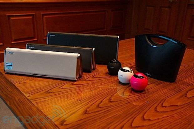 Sony unveils NFCenabled Bluetooth speakers, waterproof Walkman MP3 headphones at CES eyeson