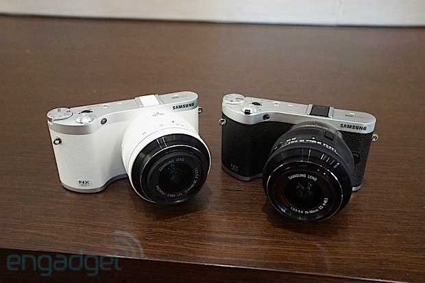Samsung unveils 3D-capable NX300 mirrorless camera and 45mm f/1.8 2D/3D lens ahead of CES (eyes-on)