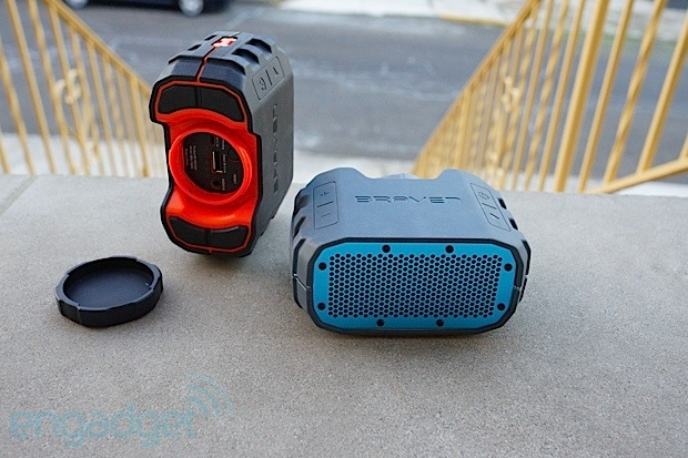 Braven's latest portable Bluetooth speakers 850 charges your iPad, BRV1 laughs at H2O eyeson