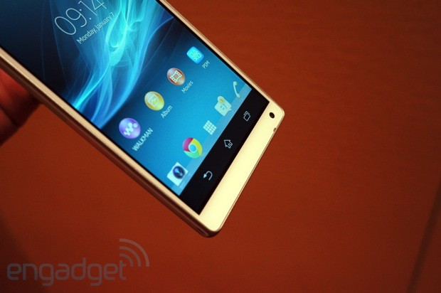 Sony Xperia ZL handson an alternate 5inch 1080p, quadcore take on 'premium'
