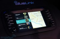 Eyes-on with Hyundai's in-car tech for 2014: CloudCar, MirrorLink and a 9.2-inch display