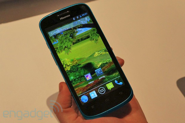 hands on with hisense 39 s first quad core android phone the u958. Black Bedroom Furniture Sets. Home Design Ideas