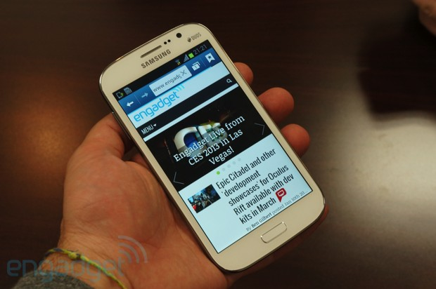 Samsung Galaxy Grand Duos handson