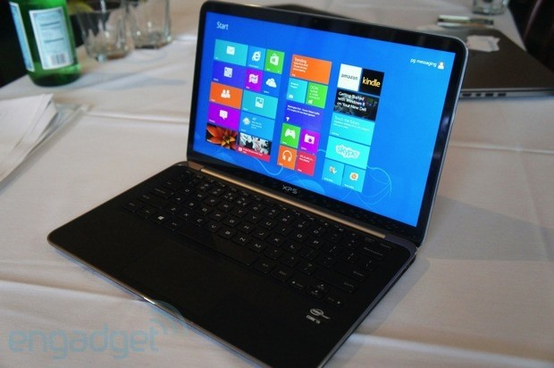 Spotted the Dell XPS 13 Ultrabook with a 1080p display and improved color gamut