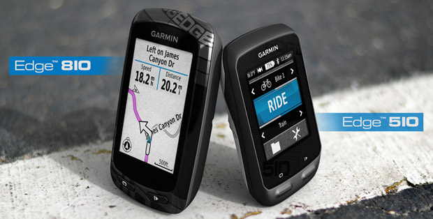 Edge 510 and 810 cycling computers appear on Garmin's web store