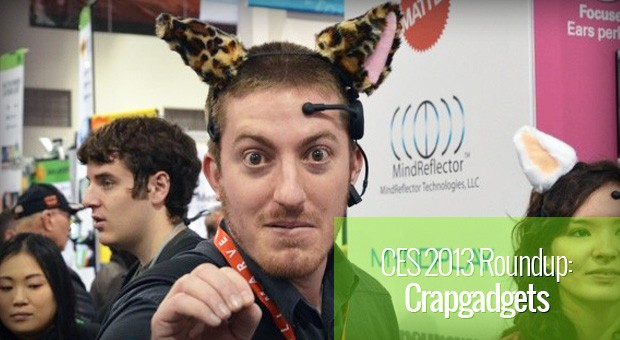 CES 2013 Crapgadget roundup