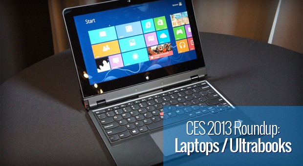 CES 2013 Laptop and Ultrabook roundup