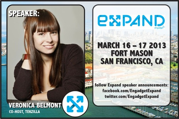 Engadget Expand Speakers, Round Two 4 more reasons you need to be there!