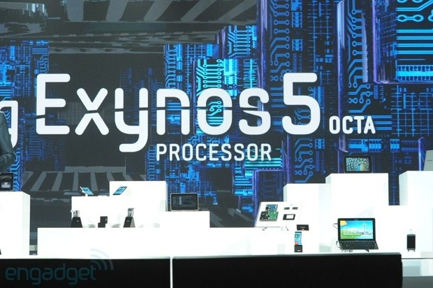 samsung announces eight core exynos 5 u002639octau002639 chip at ces samsung 8 core exynos 5 octa chip announced 620x412