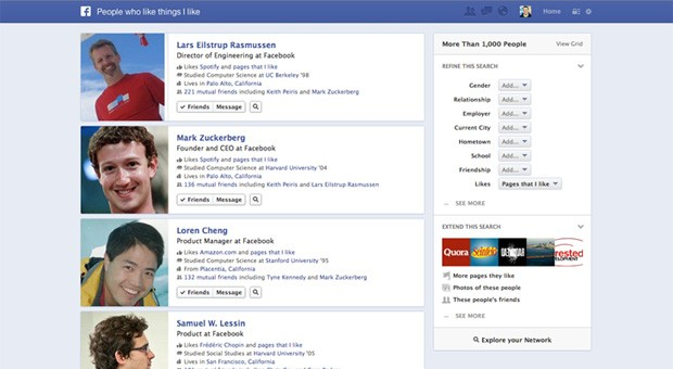 Facebook launching 'Graph Search,'