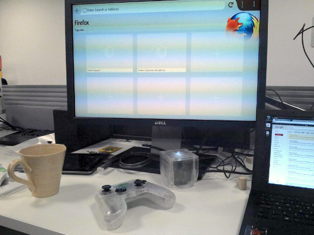 DNP Mozilla devs working to get Firefox on the OUYA