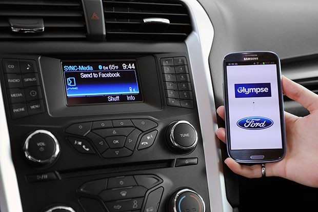 DNP Embargo Glympse announces voicecontrolled locationsharing app for Ford sync