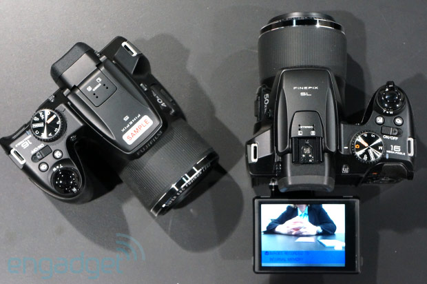 Fujifilm's bridge cams dominate CES lineup, we check out the FinePix SL1000, S8300 and HS50EXR