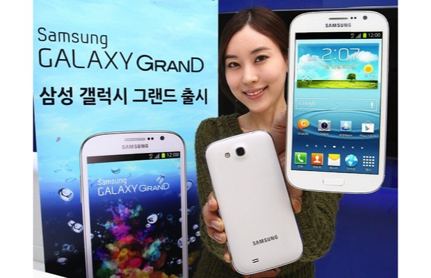 DNP Samsung plays favorites, blesses Korean Galaxy Grand with quadcore and LTE