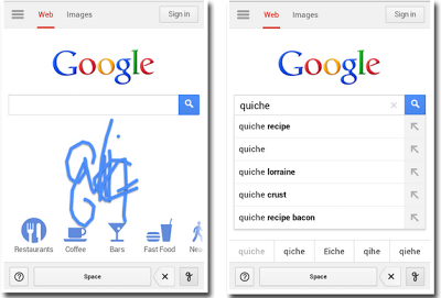 Google Handwrite gets better at interpreting your multilingual finger scribbles