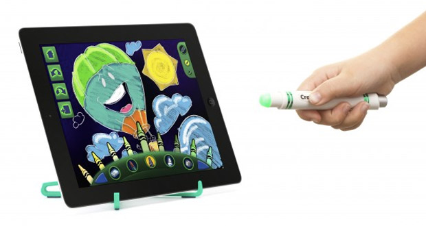 Griffin and Crayola intro contactfree Light Marker, more virtual crayon accessories