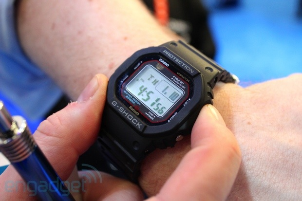 Casio's GShock GB5600A pairs nicely with iPhones, takes us down memory lane handson