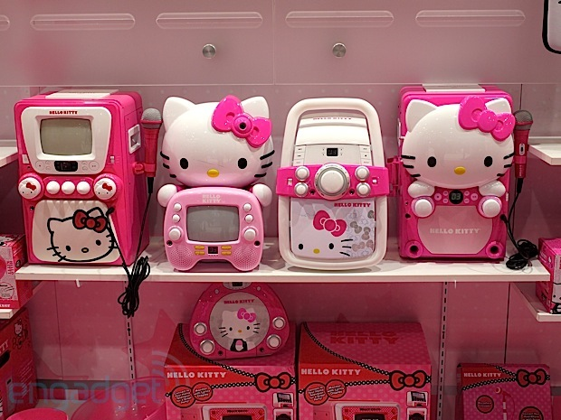 Visualized Hello Kitty paints CES 2013 in pink