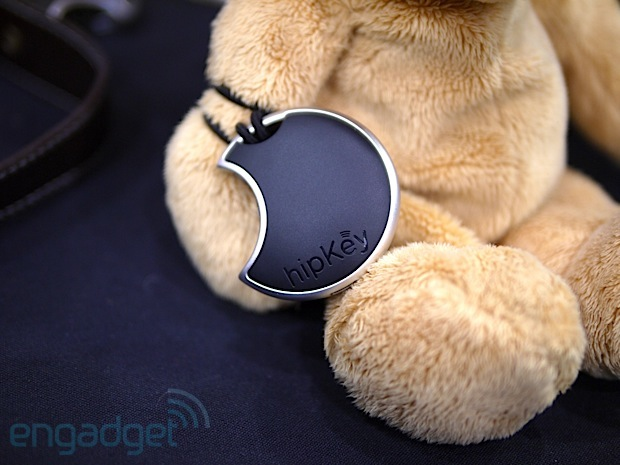 hippih's Bluetoothpowered hipKey keeps your smartphone close, your loved ones closer handson