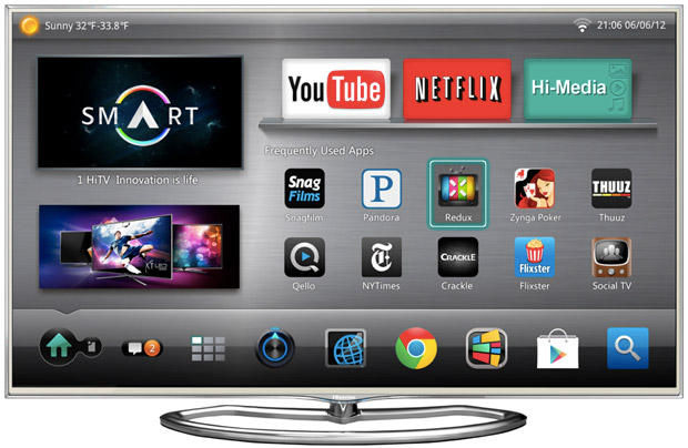 Hisense previews 2013 TV lineup that includes a 110inch 4K set, Google TV and glassesfree 3D