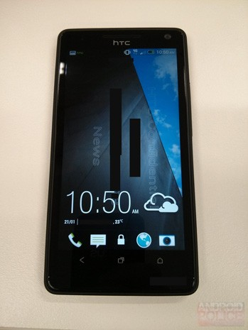 HTC M7 purportedly spied brandishing Sense 50