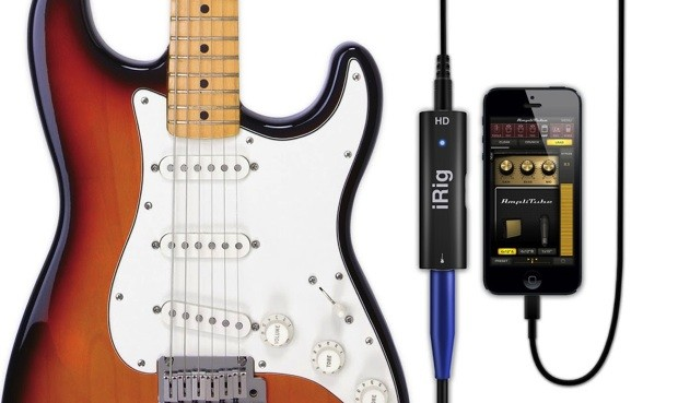 IK Multimedia's iRig HD adapter lets guitars ride the Lightning port