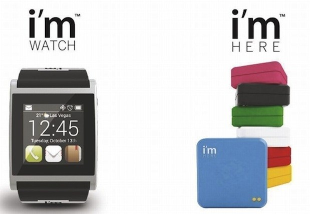 Updated Androidbased I'm Watch, new I'm Here GPS tracker make their debut