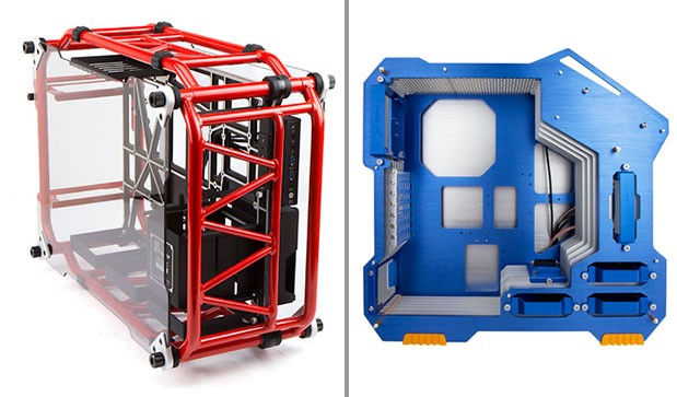 In-Win flaunts tubular, finny cases that let your components breathe fresh air